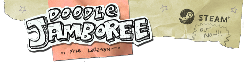 Doodle Jamboree! OUT NOW on Steam!